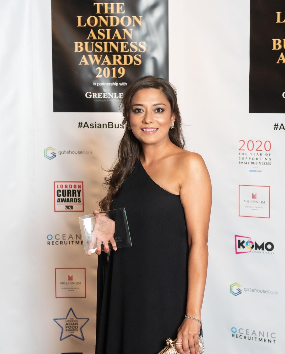 Aida Khan at Asian Business Awards - 4