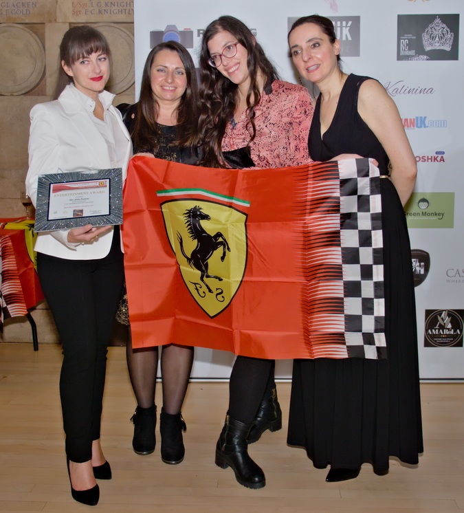 Silk Road Fashion Show x  Scuderia Ferrari Owners Club London Tuesday 12 November 2019 London Sottish House, London  This special event is organised by Scuderia Ferrari Club London, in partnership with Silk Road Fashion London and Club Epicure International.It will be an evening of motors, fashion, speciality food, drinks, glamour, music and awards.
