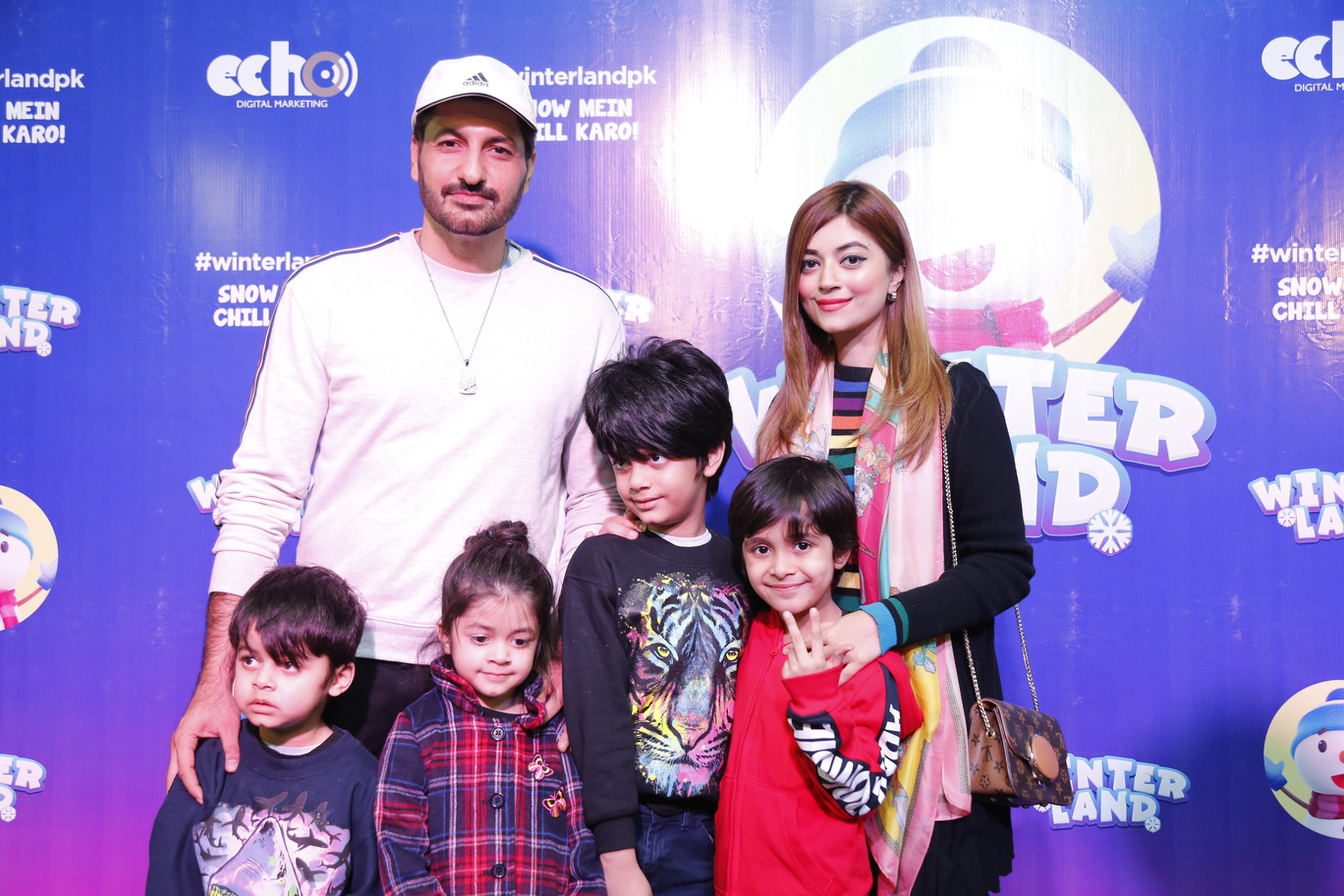 Syed Jibran and Family