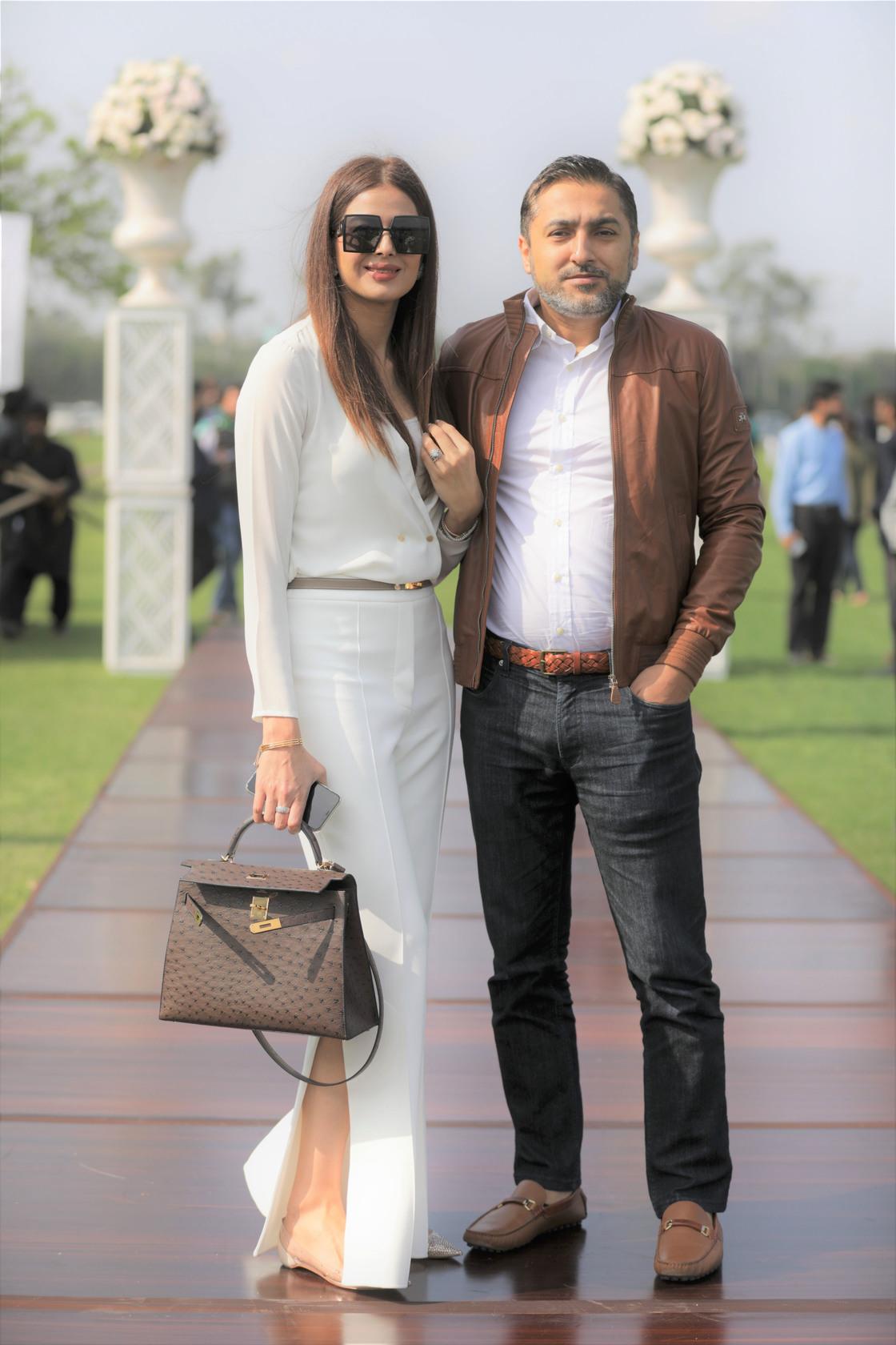 CEO Zameen.com Imran Ali Khan, Shandana Khan