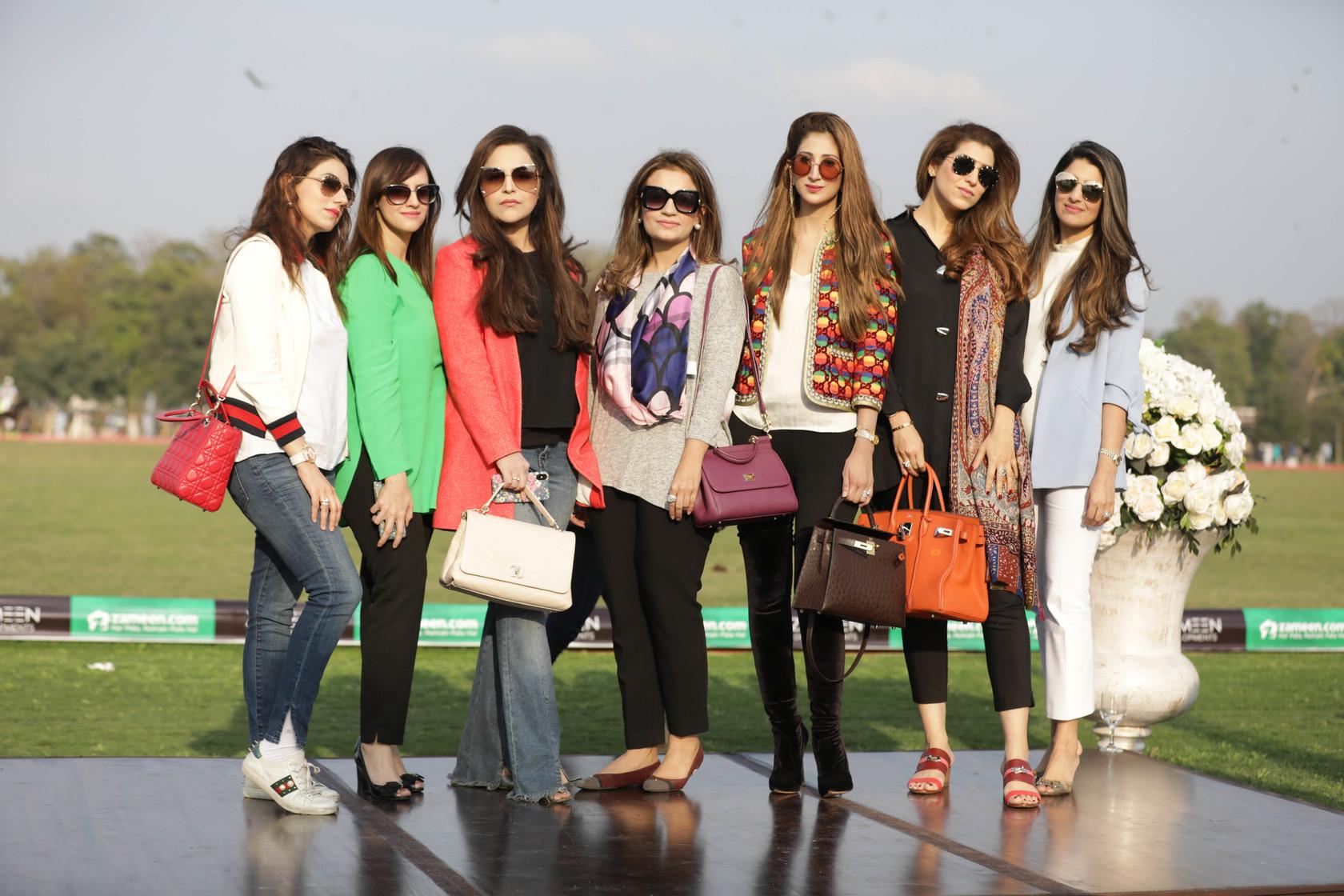 Maryam Ahmed, Aleen Nasar, Amina Junaid, Madiha Hassan, Amna Zeeshan Khan, Afifa Hussain, Sana Ashraf